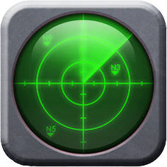 Smartphone Radar icon
